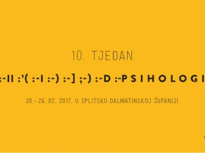10. tjedan psihologije