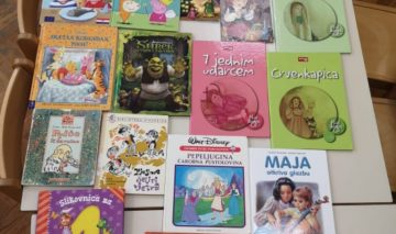 Knjige za petrinjske mališane